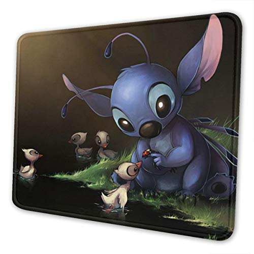 Stitch Non-Slip Mouse Pad Bottom Rubber Pads Ultra-Thin Gaming Mouse Pad. 10 X 12 Inch