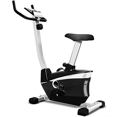 Best Prices! YFFSS Upright Exercise Bike with Electromagnetic Resistance, Device Holder, Programmabl...