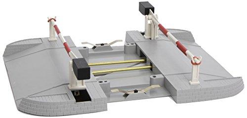 LGB – automatische Bahnschranke – L50650, Zubehör für Anlagenbau, für Gartenbahn, Gleismaterial, für gerade Gleise, Spur G, Schmalspur