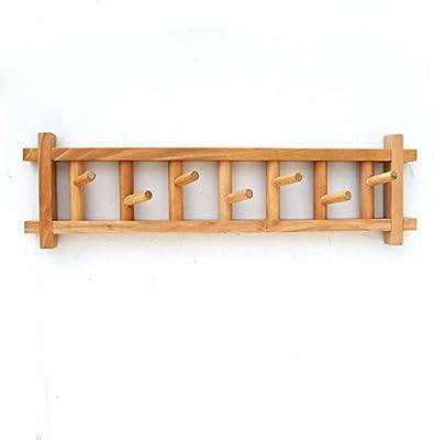 Amazon.com: ZEMIN - Perchero de pared con ganchos giratorios ...