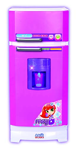 Geladeira Mágica Super Magic Toys Rosa/Branco