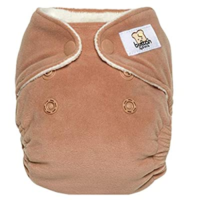 GroVia Buttah Newborn All in One Snap Reusable Cloth Diaper (AIO) (Clay)
