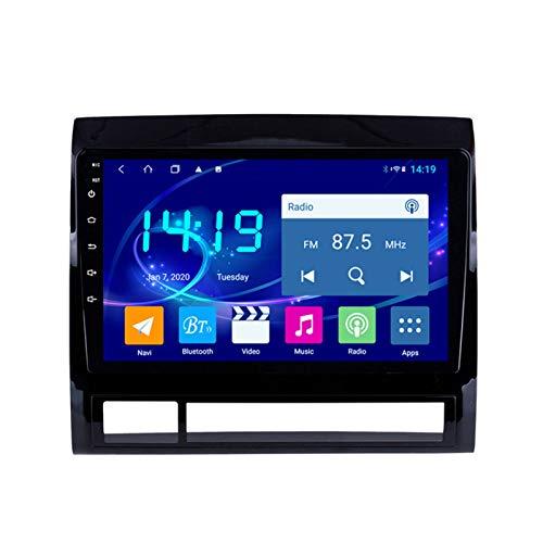 Dscam Car Stereo Android 9.1 Cuatro núcleos Coche Autoradio GPS Navegación para Toyota Tacoma 2005-2013 | 9 Pulgada | Pantalla LCD Táctil | WLAN