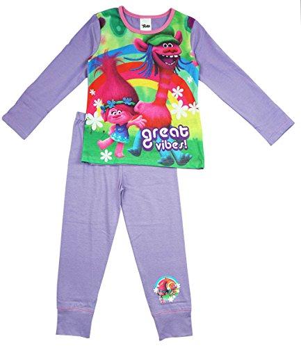 Trolls Pijamas Niñas 128cm / 7-8 Años