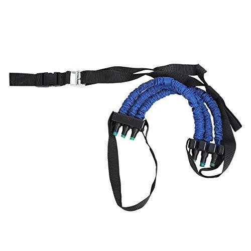 Rodipu Pull Up Sling Strap, Chin-up Cuerda, Entrenamiento Cuerda de tensión de tracción Ajustable, para Gimnasio Equipo de Ejercicio en casa Herramienta de Entrenamiento Muscular(Blue, 6 * 12 * 50cm)