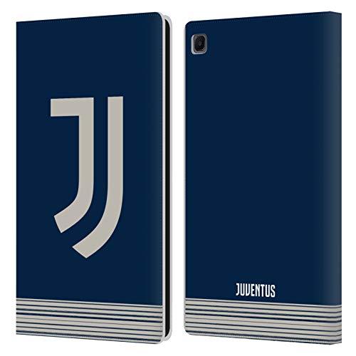 Head Case Designs Licenza Ufficiale Juventus Football Club Fuori Casa 2020/21 Kit Abbinato Cover in Pelle a Portafoglio Compatibile con Samsung Galaxy Tab S6 Lite