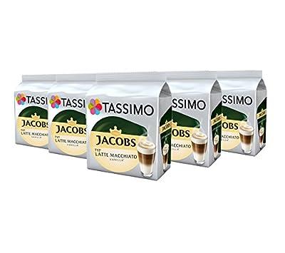 TASSIMO Latte Macchiato Vanilla Coffee Capsules