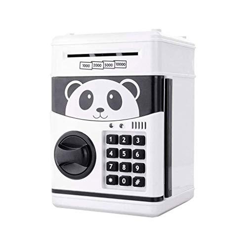 GXT Modelo Niño contraseña Box Hucha Juguete Seguro automático Máquina automática de succión de Papel Mini ATM Rompecabezas