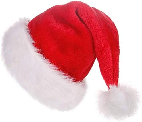 Over item handling ☆ LOKIPA Christmas Santa Hat Department store for Soft f Xmas Plush Kids
