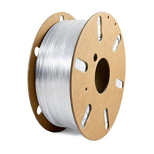 Filamentive rPETG 1.75mm Transparent 3D Printer Filament, Dimensional Accuracy  +/- 0.05mm (1KG)