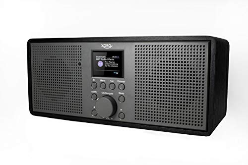 Xoro DAB 700 IR WLAN Internet Radio (DAB+, Spotify Connect, BT 4.0, Farb-Display, 2x10 Watt, Weckfunktion, 12V=) schwarz