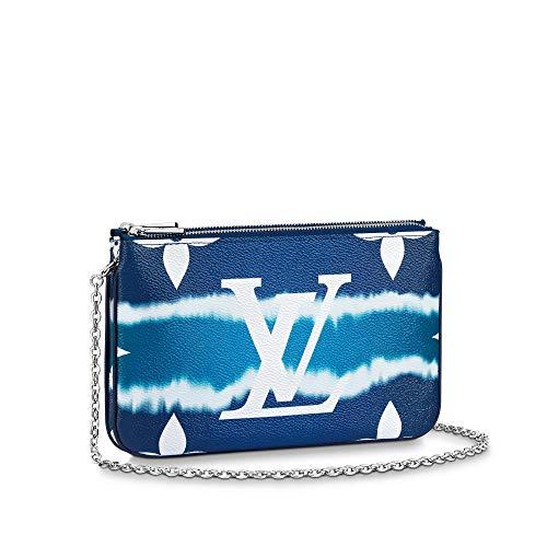 Louis Vuitton LV Escale Pochette Double Zip Bleu Limited Edition Bags Purse