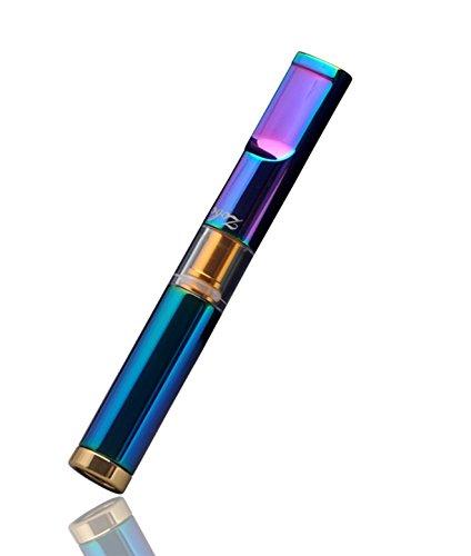 CaLeQi Porta Cigarrillos Metal Multi-Filtrado 3 Pulgadas Reutilizable para Cigarrillos Delgados de 6 mm y Estándar de 8 mm (Color)