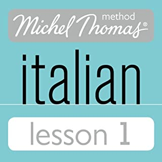 Couverture de Michel Thomas Beginner Italian Lesson 1