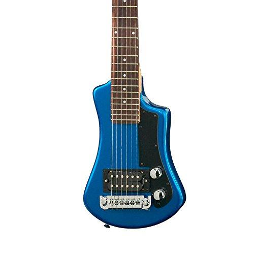 Höfner HCT Shorty Gitarre, Blau