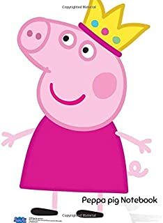 Peppa pig Notebook: Peppa pig cover,Lined Notebook,Large 8.5x11 100 pages