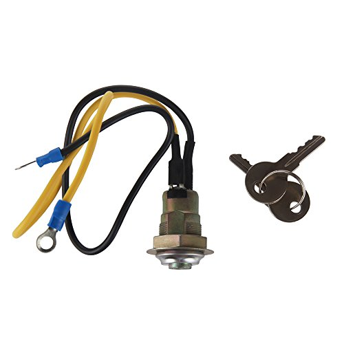 Larbi 8N3679C Ford Jubilee Tractor Ignition Switch with 2 Wire 2 Position 2 Keys 2N 8N 9N 4000 6000 641 NAA 501 600 601 700 701 800 801 900 2000 4000 1939-1964 Suitable for Car, Boat, Truck, Tractor