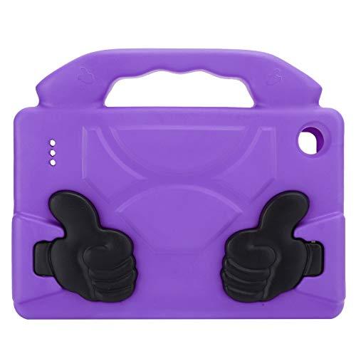 xiangxin Cubierta Protectora Plana de EVA, Accesorios de computadora Cubierta Protectora de Tableta Cubierta Protectora de Tableta, Cubierta Protectora de EVA para niños, para(Purple)
