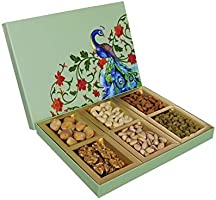 Nuts Wave Premium Dry Fruits Gift Box | Assorted Dry Fruits Box | 300 Grams Box | Diwali Dry Fruit Gift Pack