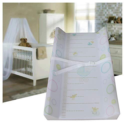 HBIAO Matelas Plan à Langer pour bébé, Protection de l'environnement Safety Oil Dirt Layer Diaper Table Lamp Cotton Soft Fournitures pour mères et Enfants,D