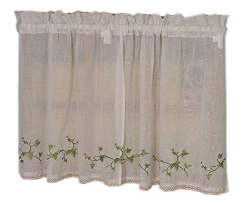cortinas cocina verde