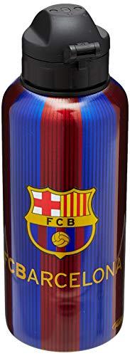 Alusport Bottles FCB Messi Modelo II Botella Deportiva de Aluminio, Hombre, Rayado,...