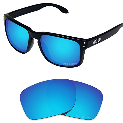 Tintart Performance Lenses Compatible with Oakley Holbrook Polarized Etched-Sky Blue
