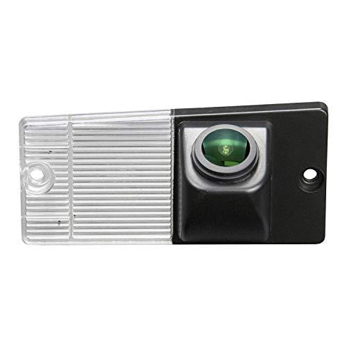 HD Caméra de Recul Voiture en Couleur Kit Caméra vue arrière de voiture Imperméable IP68 Vision Nocturne pour Kia Sportage (2008-2010) et Sorento (2002-2009)