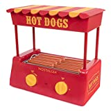 Nostalgia HDR8RY Hot Dog Warmer 8 Regular Sized, 4...