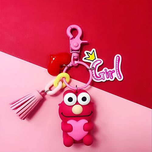N/ A sleutelring Cartoon sleutelhanger autotas hanger bel sleutelring figuur speelgoed