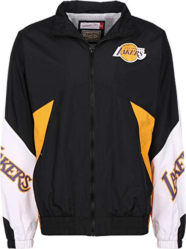 Mitchell & Ness Midseason 2.0 LA Lackers Giacca a Vento Black