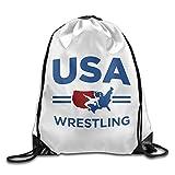 DHNKW Ruby Rose Judoka Ort Backpack Drawstring Print Bag