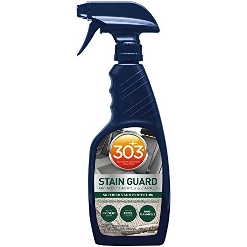 303 (30676) Fabric Protector and Stain Guard for Auto Interior Fabrics, Carpets and Floor Mats, 16 fl. oz.