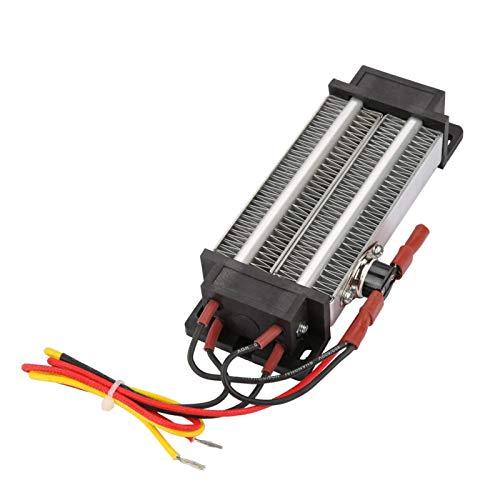 KUIDAMOS Calentador de Aire de cerámica PTC, Calentador de Aire PTC de 500W 110V Calentador de Aire de cerámica PTC Calefacción de Ventilador de Coche para Espacios pequeños, Elemento Calefactor PTC