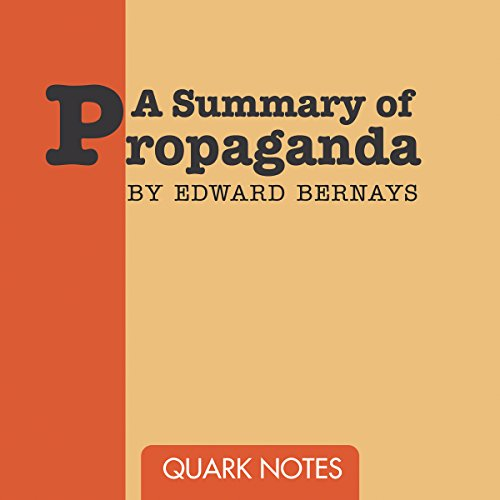 Summary of Propaganda audiobook cover art