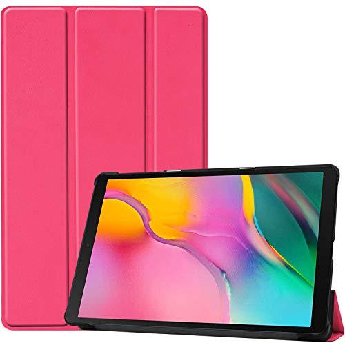 ProCase Funda Folio para Galaxy Tab A 8.0 2019 SM-T290/T295, Carcasa Tipo Libro Fina con Soporte para 8.0 Pulgadas Galaxy Tab A 2019 Tablet, Compatible con Modelo SM-T290(Wi-Fi) SM-T295(LTE) -Magenta