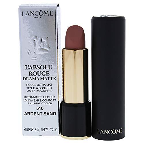 Lancome Labsolu Rouge Drama Matte Lipstick, 510 Ardent Sand, 0.12 Ounce