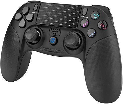 Mando de Juego para PS4, PowerLead Wireless Gamepad para Playstation 4 y Playstation 3 Panel táctil Joypad con Doble vibración de Juego Mando a Distancia: Amazon.es: Electrónica