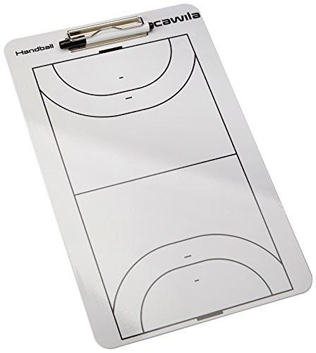Cawila Klemmbrett Clipboard Handball, Weiß, 4, 00401702