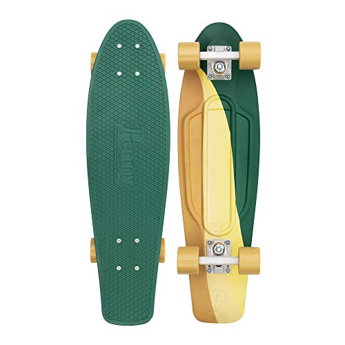 """27/"""" Skateboard Cruiser Penny Style Board Four Rounds For Kids Adult 3 Color UK"""