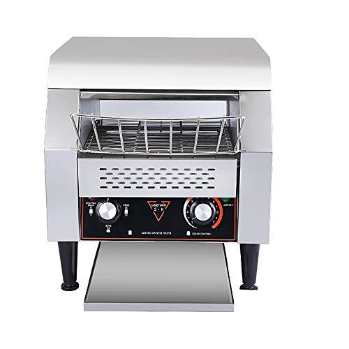KKDWJ Sehr großer Toaster aus Edelstahl mit 7 Toasteinstellungen Schnelles, gleichmäßiges Toasten Herausnehmbarer Krümelbehälter Extraweit Intelligente Temperaturregelung,545 * 475 * 390(mm)
