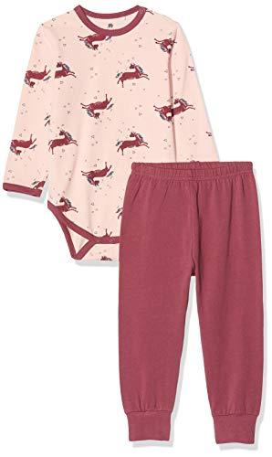 CeLaVi Baby Pyjamas Set in Weicher Qualität Ensemble, Rose (Rosa), 95 (Taille Fabricant: 80) Bébé Fille