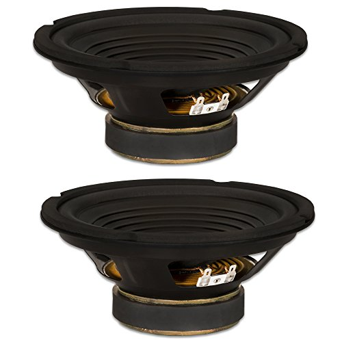 2 Goldwood Sound GW-208/8 OEM 8' Woofers 200 Watts Each 8ohm Replacement Speakers