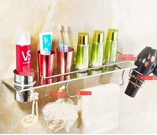CHUTD Support de sèche-Cheveux, étagère pour sèche-Cheveux, Support de sèche-Cheveux, Support de sèche-Cheveux WC pour sèc...