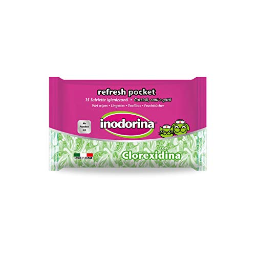 Inodorina Salviette Refresh Clorhex Pocket 15pz