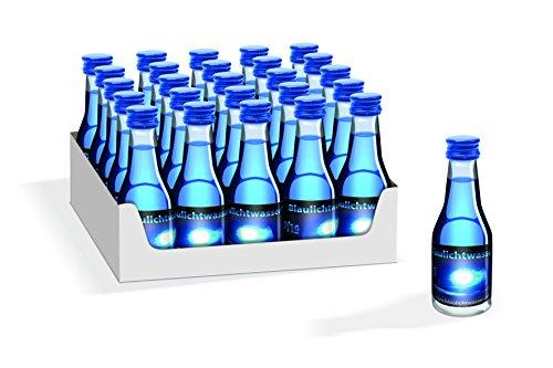 Blaulichtwasser - Blaulichtwasser 20/16-25er-Tray - Likör 16% vol.