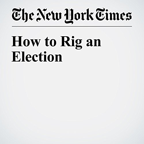 How to Rig an Election cover art