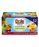 ALL NATURAL FRUIT: Enjoy the refreshing taste of pineapple, peach, pear, and cherries, in 100% real fruit juice. DOLE FRUIT BOWLS are made with the best fruit nature has to offer. With so many varieties it's easy to get sunshine in every bowl NATURAL...