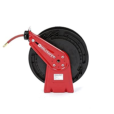 Reelcraft 3/8-Inch Spring Driven Hose Reel for Air/Water