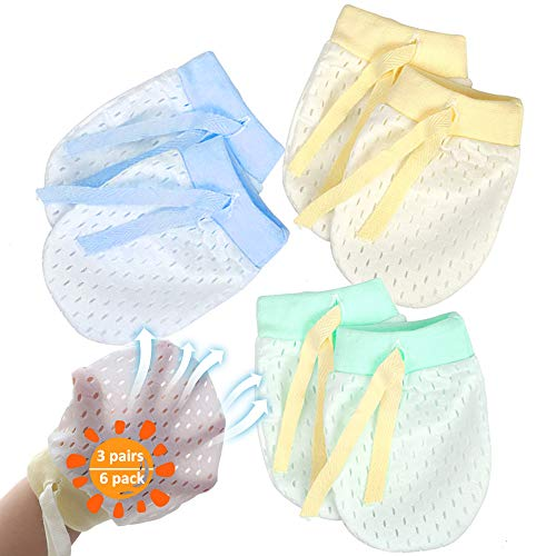 Baby Anti Scratch Mittens For Ne...
